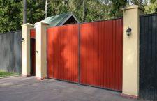 Распашные ворота в Краснодаре